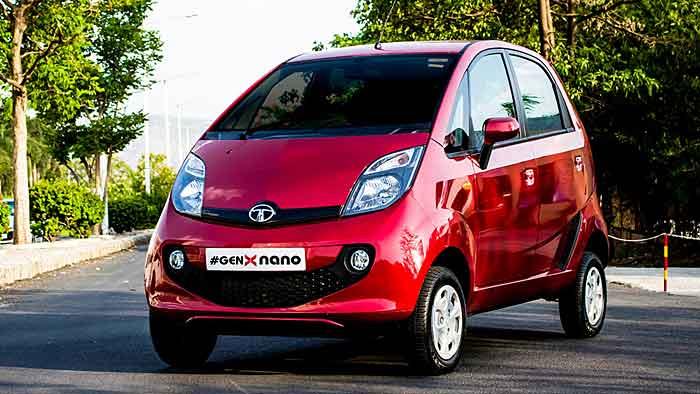 Tata hat den Nano als GenX-Variante überarbeitet.