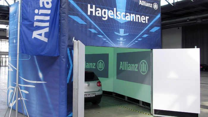 Allianz setzt auf Hagelscanner