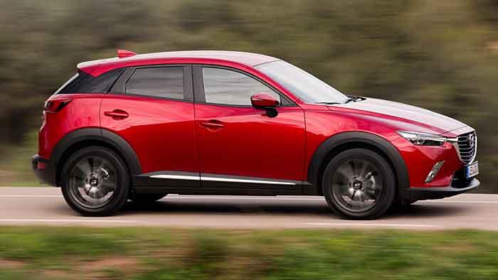 Mazda stößt mit dem CX-3 ins Mini-SUV-Segment vor.