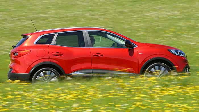 Renault steigt mit dem Kadjar ins Crossover-Segment ein.