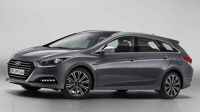 Der Einstiegspreis des gelifteten Hyundai i40 CW steigt an.