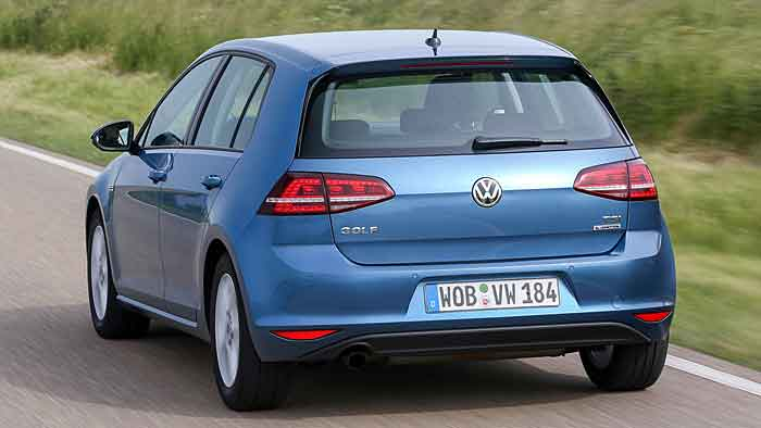 Ein VW TSI Bluemotion
