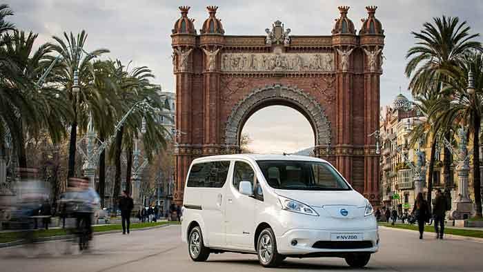 Nissan E-NV200: Sieben unter Strom