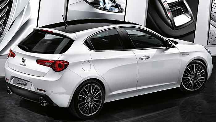 Die Alfa Romeo Giulietta Collezione soll mit diversen Extras verführen.