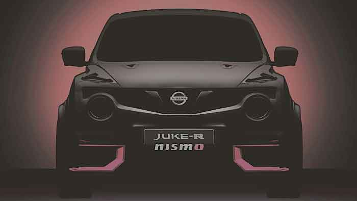 Der Nissan Juke R Nismo erhält Unterstützung vom GT-R.