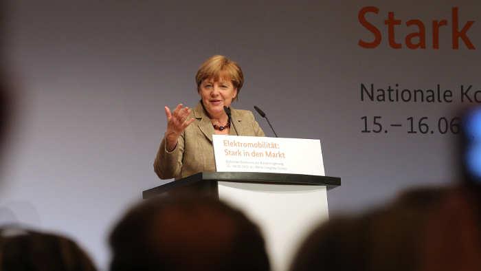 Merkel hat Botschaft der Autobranche verstanden