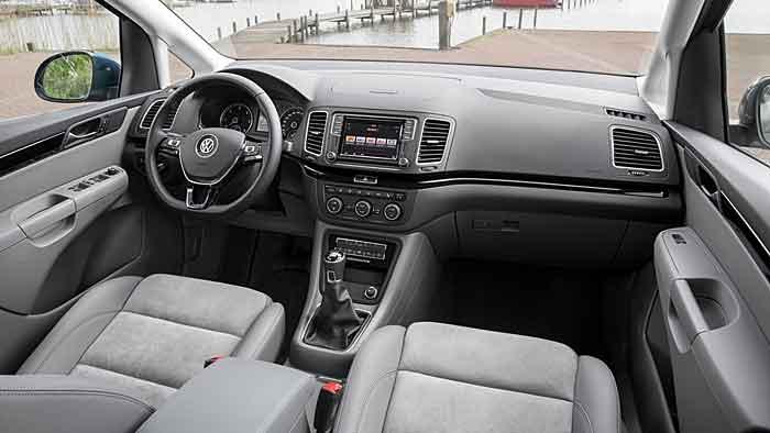 VW hat den Sharan sparsamer und moderner kreiert.