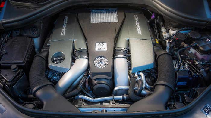 Der V8 im Mercedes-AMG GLE 63 S