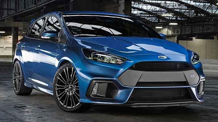Der Ford Focus RS wird nun von 350 PS angetrieben.