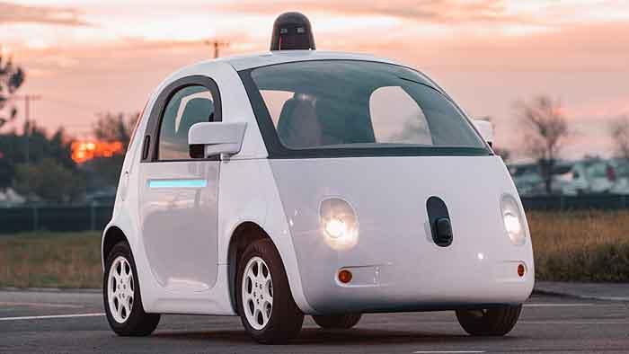 Das Google-Auto war für einen Polizisten zu langsam.