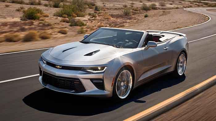 Chevrolet bietet den offenen Camaro ab dem kommenden Jahr an.