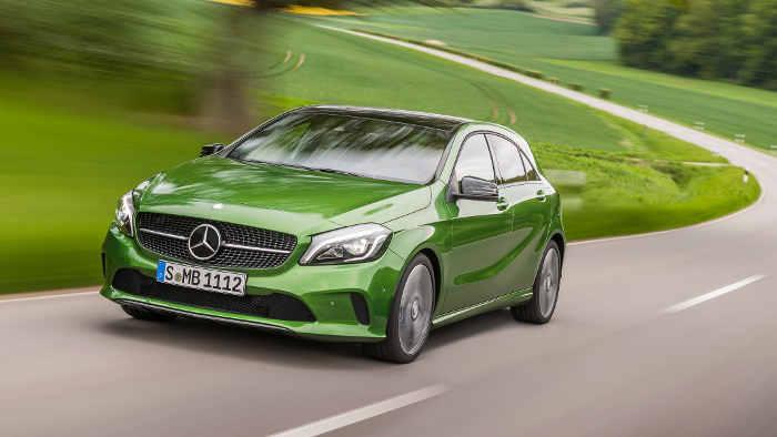 Die neue Mercedes A-Klasse kommt im September auf den Markt.