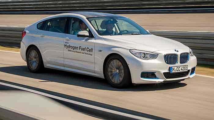 Der BMW 5er GT Hydrogen Fuel Cell verfügt über eine Reichweite über 500 Kilometer.