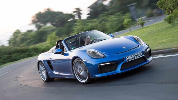 Der Porsche Boxster Spyder kommt Ende des Monats.