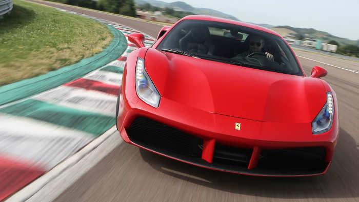 Ferrari 488 GTB: Italienische Sturmböen