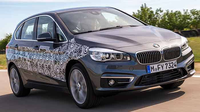 BMW setzt den 2er Active Tourer unter Strom.