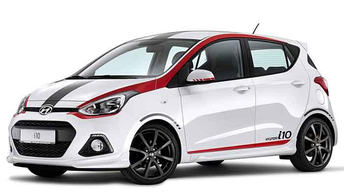 Hyundai hat den i10 auf sportlich getrimmt.