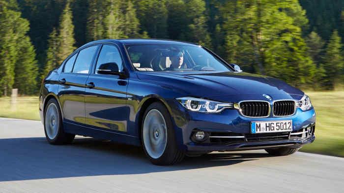 Der neue BMW 3er hat sich optisch kaum verändert.