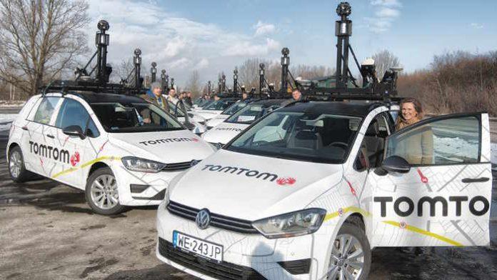 TomTom hält autonome Autos auf der richtigen Spur.