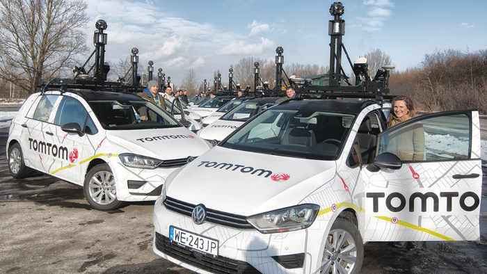 TomTom führt autonome Autos auf die Spur