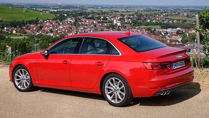 Der neue Audi A4 wird erstmals auf der IAA gezeigt.