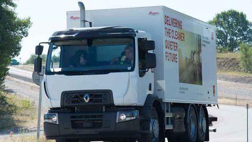 Erdgasfahrzeuge können fast emissionsfrei unterwegs sein.
