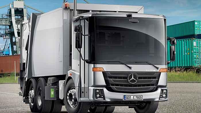 Der Mercedes-Benz Econic NGT