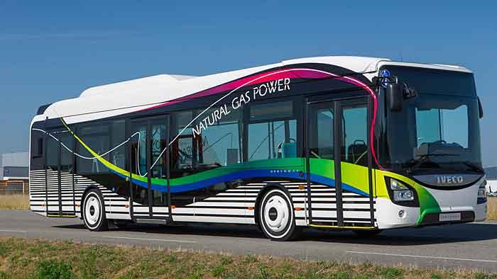Der Iveco Urbanway wird auf der Expo in Mailand eingesetzt.