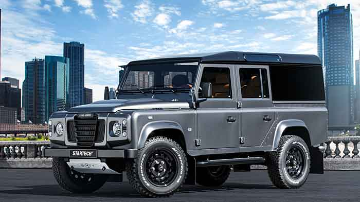 Den Land Rover Defender Sixty8 gibt es genau 68 Mal.