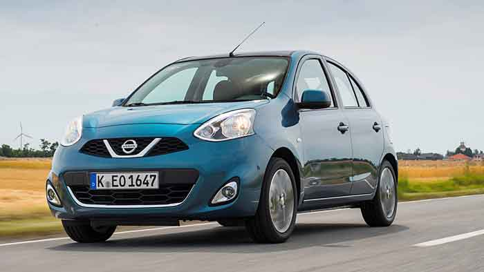 Nissan positioniert den Micra preislich eine Klasse tiefer.