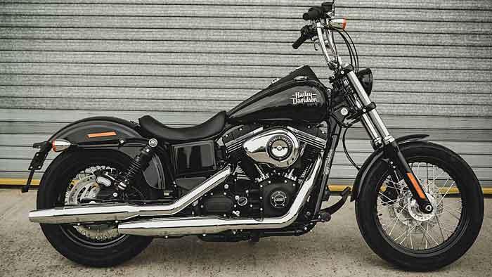Limitierte Harley-Davidson Street Bob als Chopper