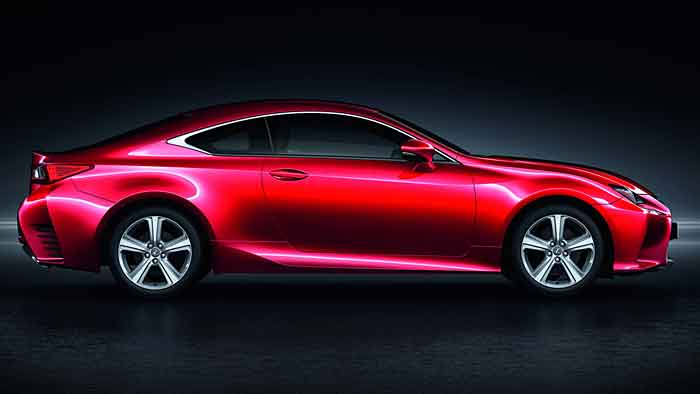 Lexus spendiert auch dem RC Coupé den neuen Turbo-Benziner.