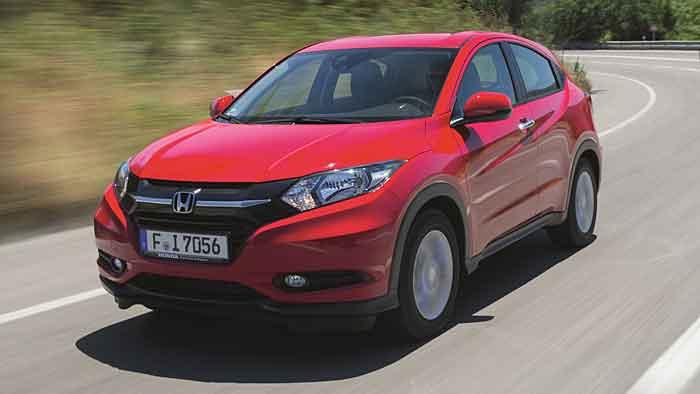 Honda jazzt den HR-V hoch.