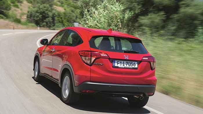 Honda steigt mit dem HR-V ins Mini-SUV-Segment ein.