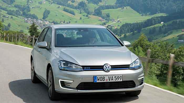 Der VW Golf GTE zeigt zwei Gesichter.