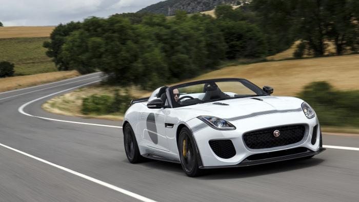 Jaguar F-Type: Geschwindigkeit als Nebensache