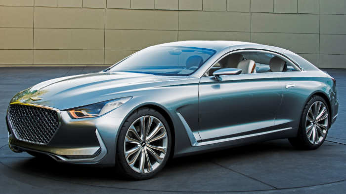 Hyundai stellt den Vision G in Frankfurt vor.