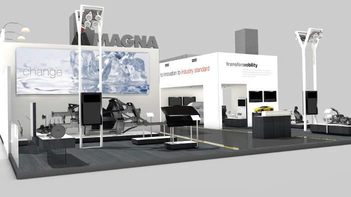 Magna setzt sich auf der IAA mit der Mobilität der Zukunft auseinander.