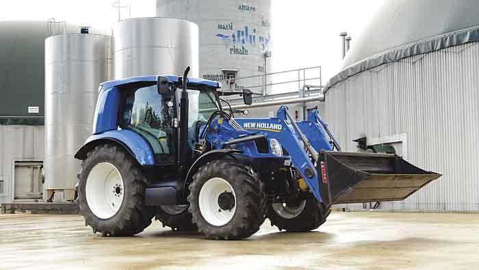 Der Erdgas-Traktor von CNH