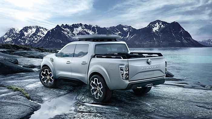 Renault präsentiert auf der IAA eine seriennahe Pickup-Studie.