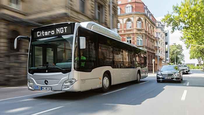 Mercedes hat den neuen Erdgas-Citaro vorgestellt.