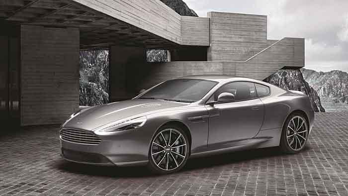 Aston Martin legt eine spezielle Bond Edition des DB9 GT auf.