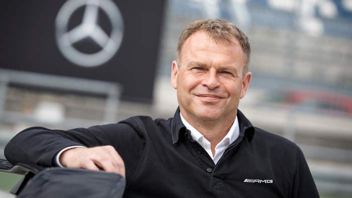 AMG-Chef Tobias Moers erwartet einen neuen Rekordabsatz.
