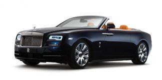 Der Rolls-Royce Dawn wird in Frankfurt gezeigt.