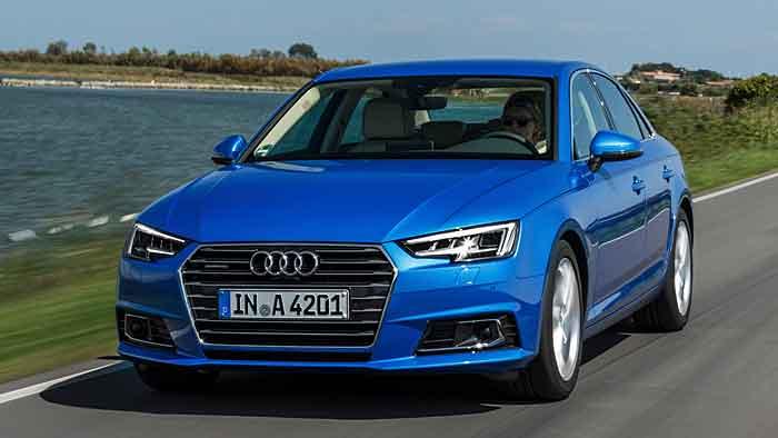 Der Modellwechsel des A4 wirkte sich in Europa positiv aus.