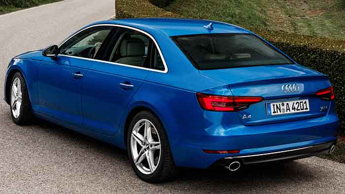 Die neunte Generation des Audi A4 nähert sich den oberen Segmenten deutlich an.