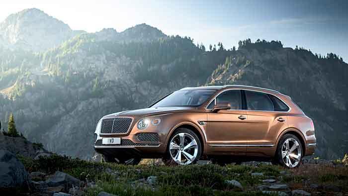 Der Bentayga ist das erste SUV von Bentley.