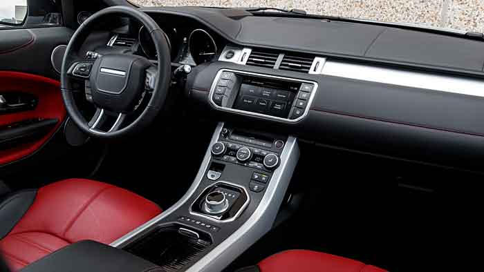 Der Range Rover Evoque wurde vor allem technisch modernisiert.