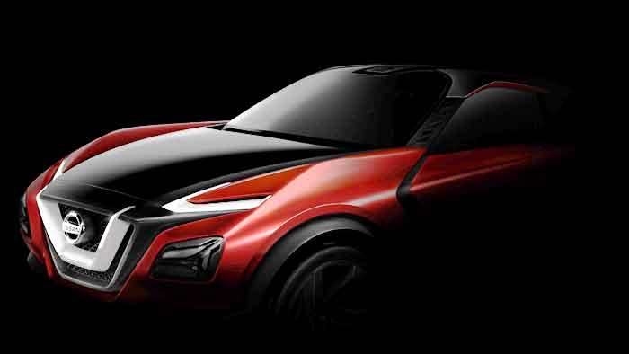 Nissan enthüllt den Gripz Concept in Frankfurt.
