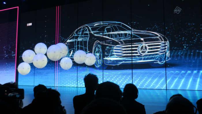 Mercedes Concept Intelligent Aerodynamic Automobile